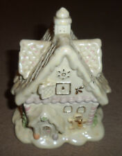 Lenox Gingerbread Music Box Christmas Holidays Fine Porcelain Ornament