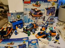 OOP 2000 LEGO Arctic Sets 6520, 6573, 6586 Complete Instructions & Box