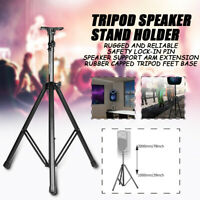 Heavy Duty Metal Tripod DJ PA Speaker Stands Adjustable Height Universal US