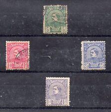 Serbia Valores del año 1881 (DB-480)