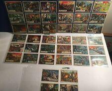 1962 Topps (41) CIVIL WAR NEWS trading cards LOT #1-86 range - G-VG