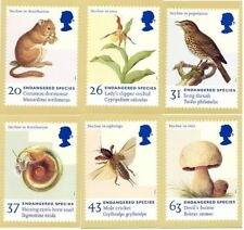GB 1998 PHQ Cards Mint Set~Endangered species~(6)~PHQ-194~UK Seller