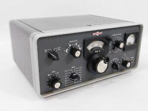 Collins 75S-3 Winged Emblem Ham Radio Receiver w/ CW Filter + Box (SN 10353)