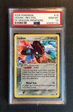 Pokemon Card PSA 10 Ledian Reverse Foil Ex Dragon Frontiers Gem Mint #18/1101