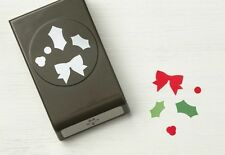 Stampin' Up! HOLLY BERRY Builder Punch - NIP - All Occasion