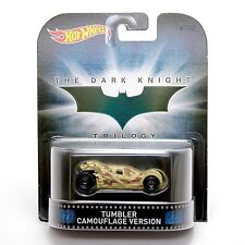 BATMOBILE The Dark Knight Trilogy Tumbler Camouflage Version NEW Hot Wheels F1