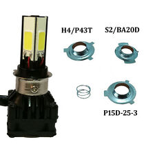 Motorcycle LED H4 H6 HS1 Hi/Lo Headlight Motorbike Front Light2800LM 6000K Bulb
