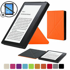 Orange Smart Case Cover Sleeve Amazon Kindle Oasis with Free Screen Prot Stylus