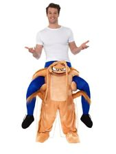 Mens Cockroach Ride On Me Mascot Fancy Dress Carry Costume Piggy Back Outfit
