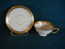 Lenox Stanford O-12  Heavy Gold Trim Cup and Saucer Set(s)