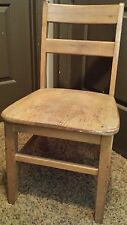 """17"""" Solid Wood Wooden School Library Student Study Restaurant Chair **LOOSE"""