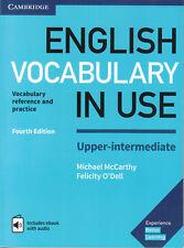 Cambridge ENGLISH VOCABULARY IN USE UPPER-INTERMEDIATE +Answers&Audio 4TH ED New