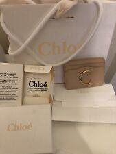 BNIB Chloe C Leather Cardholder