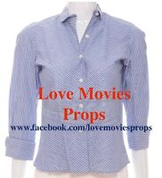 Amy Adams Julie and & Julia Screen Worn Top Blouse Prop Meryl Streep Julia Child