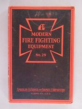 American LaFrance CATALOG - 1930 ~~ fire department, firefighting, firefighter