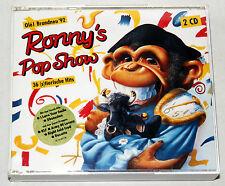 2 CD-Box RONNY´S POP SHOW - 36 (s)tierische Hits - 1992