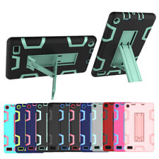 For Amazon Kindle Fire 7 2019 9th Gen Hybrid Shockproof Rugged Cover Stand Case