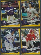 2019 Topps Big League GOLD PARALLELS Complete Your Set You Pick!