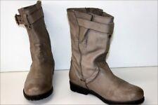 PALLADIUM Bottines boots Cuir Souple Gris Clair T 37 BE
