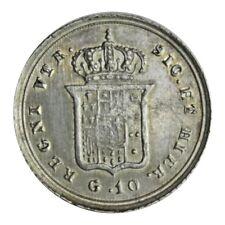 REGNO DELLE DUE SICILIE - Ferdinando II di Borbone - 10 grana 1855 Mspl