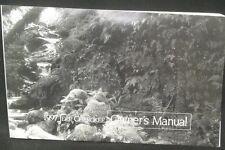 JEEP CHEROKEE XJ 1997 Owner Manual OEM Part# 81-326-9751