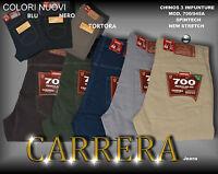 PANTALONE CARRERA COTONE NEW STRETCH SPINTECH Mis.Dalla 46 alla 58