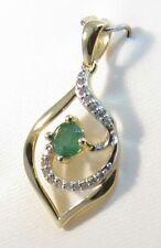 Emerald Natural Not Enhanced Fine Necklaces & Pendants
