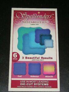 Spellbinders Nestabilities Dies - Labels One