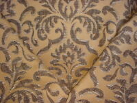 7Y Scalamandre AP 01310311 Kampur Portobello Spanish Damask Upholstery Fabric