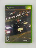Corvette - Original Xbox Game - Complete & Tested