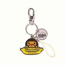 A BATHING APE BABY MILO & Banana Keychain Key Ring fr BAPE BABY MILO STORE Japan