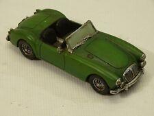 2000 Popular Imports Nostalgia Mg Mga Green Roadster Miniature Decorative Mint