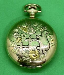 Illinois Pocket Watch 3/4 Plate Size 0s 15j 1909 Model #2 Running Ex Condition!!