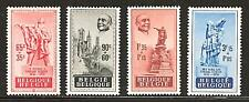 BELGIUM # B-455-458 MNH Founder Socialist Party