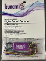 SoundTraxx TSU-2200 – Tsunami2 (2-amp) Sound Decoder   EMD Diesel   NEW   885005