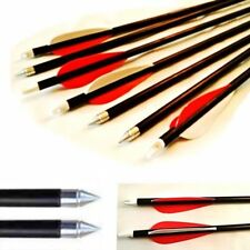Vanes Fiberglass Shaft Complete Archery Arrows