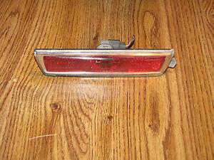 08-12 CHEVY MALIBU REAR SIDE MARKER LIGHT LH OEM DRIVER