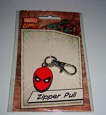 """1UP BOX SPIDERMAN 1"""" ZIPPER PULL KEY CHAIN. 1 UP BOX"""