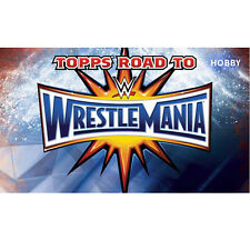 2017 TOPPS WWE ROAD TO WRESTLEMANIA 160-CARD MASTER SET - BASE & 2 INSERT SETS