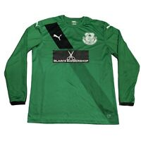 PUMA St John's FC Green Football Shirt XL Sports Jersey Sunday League Luton