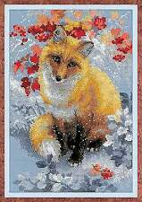 Counted Cross Stitch Kit RIOLIS - FOX