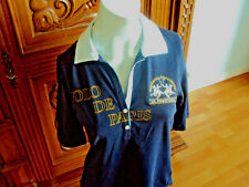 LA MARTINA Poloshirt Größe M 38 in dunkelblau, Kurzarm