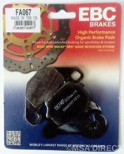 EBC Organic REAR Disc Brake Pads Fits KAWASAKI GPZ500S (E Models - 1994 to 2004)
