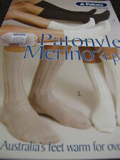 Patons Knitting Contemporary Socks Patterns