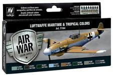 (12,49€/100ml) Vallejo 71164 Farb-Set Luftwaffe See + Tropen Maritime & Tropical