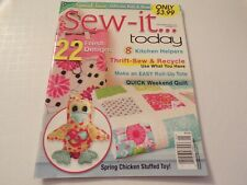 Sew It...Today April May 2013
