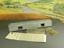 HO 1:87 Old Vintage 1940s Diecast Metal Kit SCALE-CRAFT BAGGAGE CAR w/ TRUCKS