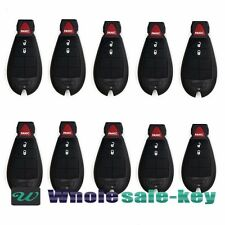LOT of 10 NEW 3btn Replacement Key Fob Keyless Entry Remote Beeper for Fobik