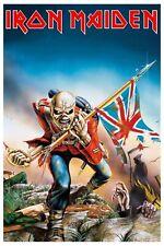 Heavy Metal: Iron Maiden * Trouper * Concert Poster 1983   12x18