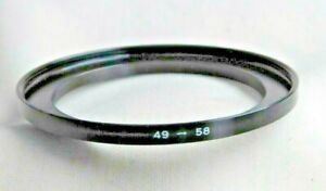 Cokin 49mm - 58mm  Stepping Ring  / Adapter Step Up Filter Ring        (X586)